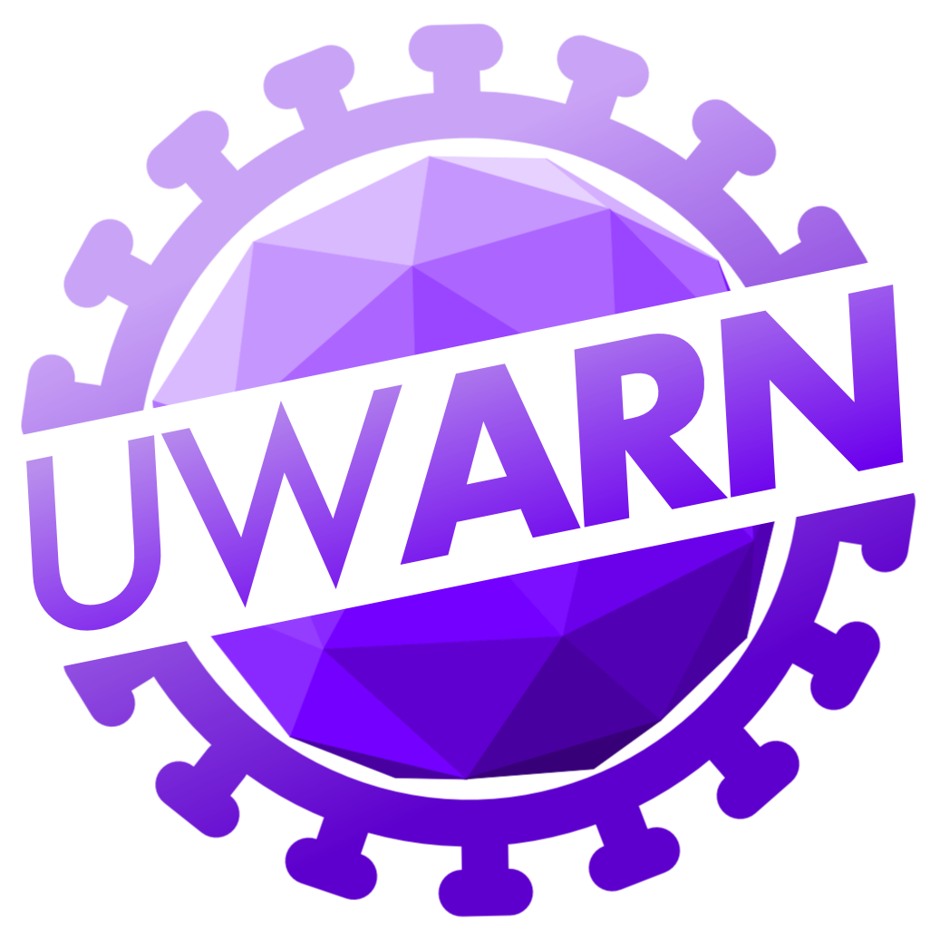 UWARN Logo in purple