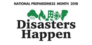 FEMA National Preparedness Month poster