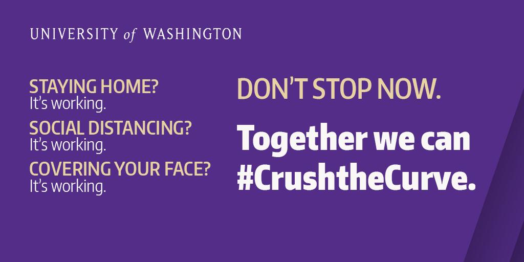 #CrushtheCurve Poster