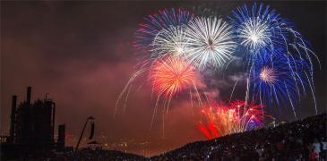 Seafair Fireworks